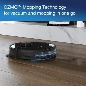 aspirateur robot Ecovacs Ozmo 920 mapping