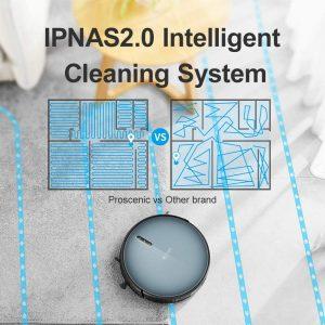 aspirateur robot laveur Proscenic 820T nettoyage