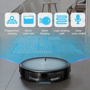 aspirateur robot laveur Proscenic 820T fonctions